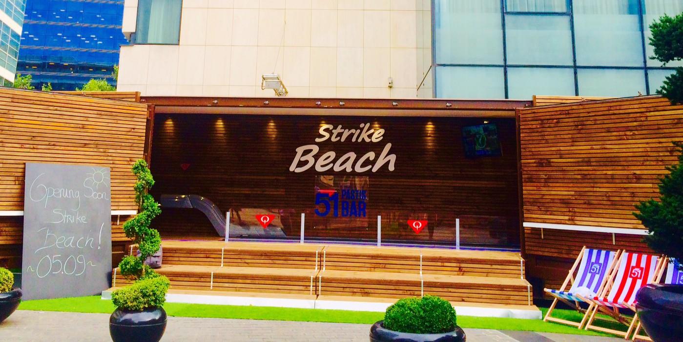 La Strike Beach de Dining Event, le 1er concept de bowling outdoor